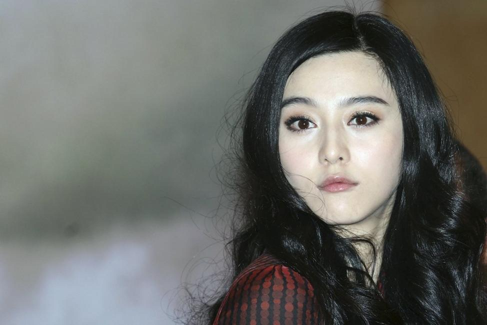 Fan Bingbing at the news conference of