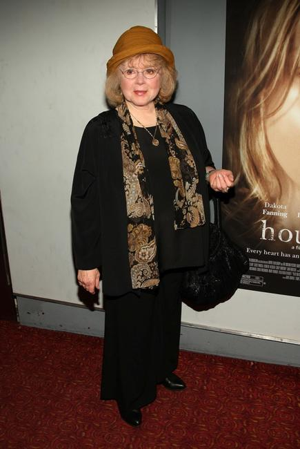 Piper Laurie at the New York premiere of