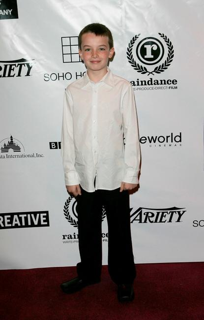 Alex Etel at the British Independent Film Awards.