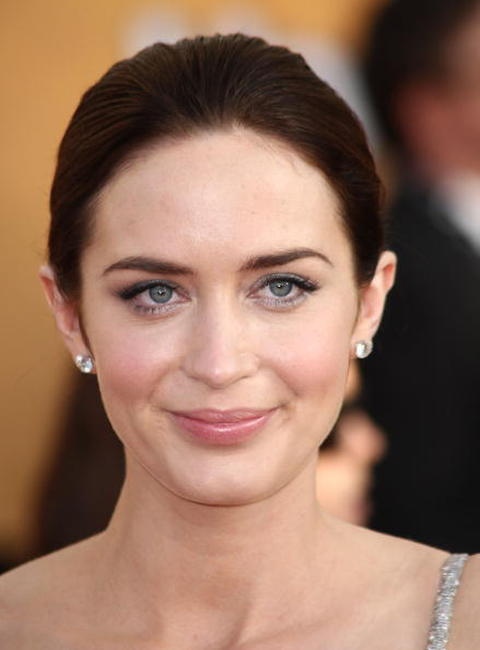 Emily Blunt at the 15th Annual Screen Actors Guild Awards.
