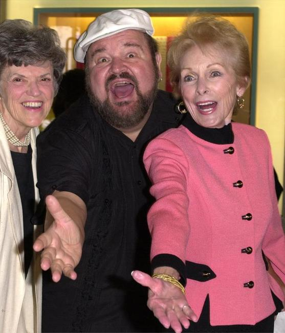Janet Leigh, Dom DeLuise and his wife Gloria at the15th Annual Gypsy Award ceremony.