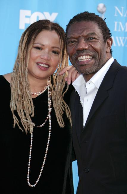 Kasi Lemmons and Vondie Curtis Hall at the 39th NAACP Image Awards .
