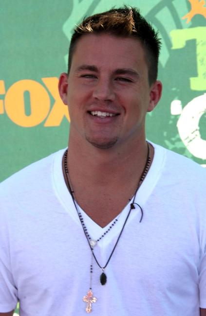 Channing Tatum at the 2008 Teen Choice Awards.