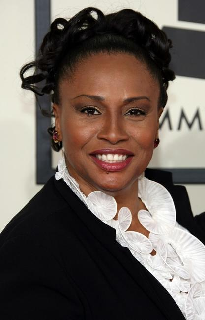 Jenifer Lewis at the 50th annual Grammy awards.