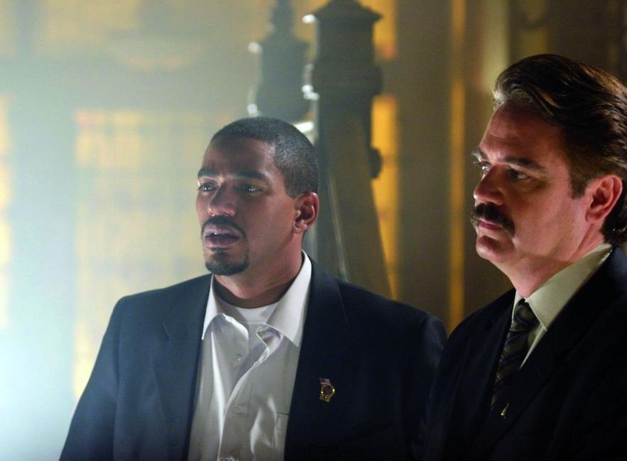 Laz Alonso and Michael Harney in