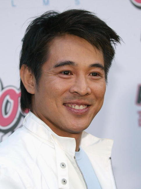 Jet Li at the Hollywood premiere of