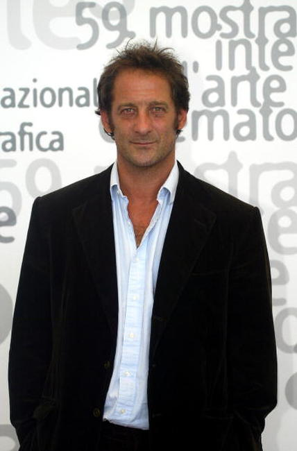 Vincent Lindon at the photo call of