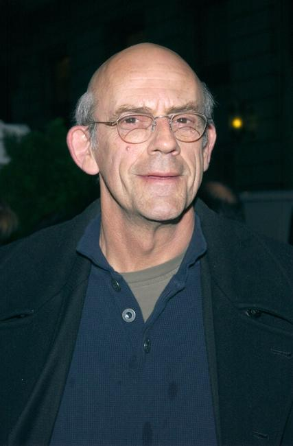 Christopher Lloyd at the premiere of
