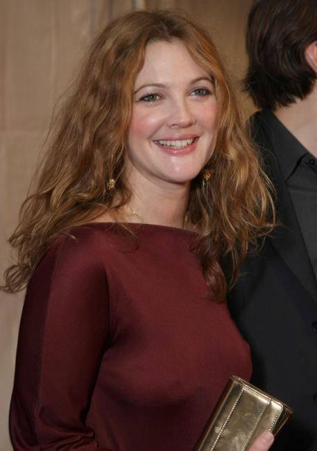 Drew Barrymore at the premiere of