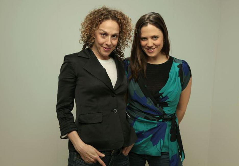 Director Rachel Grady and Heidi Ewing at the 2010 Sundance Film Festival.