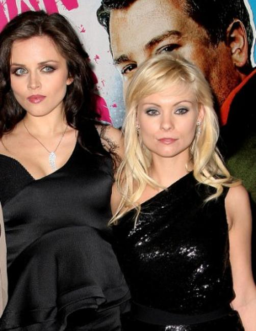 Vera Filatova and MyAnna Buring at the gala screening of