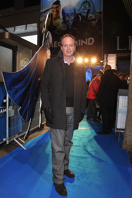 Tom McGrath at the Paris premiere of