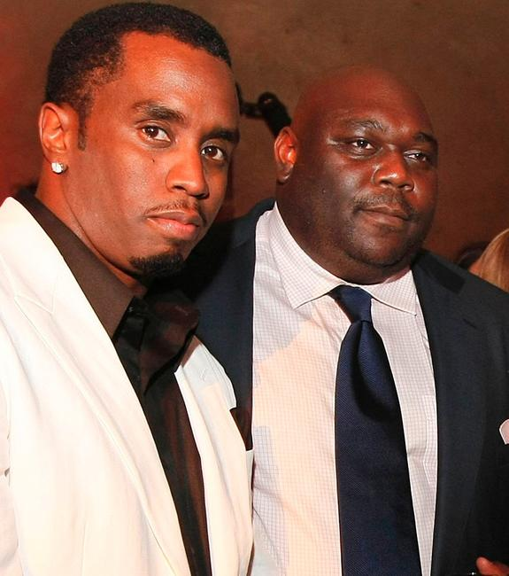 Sean Combs and Faizon Love at the after party of the premiere of