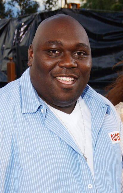Faizon Love at the L.A. premiere of