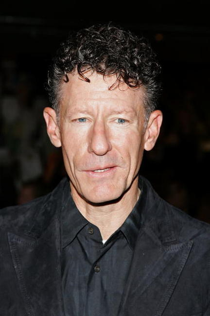 Lyle Lovett at the opening of