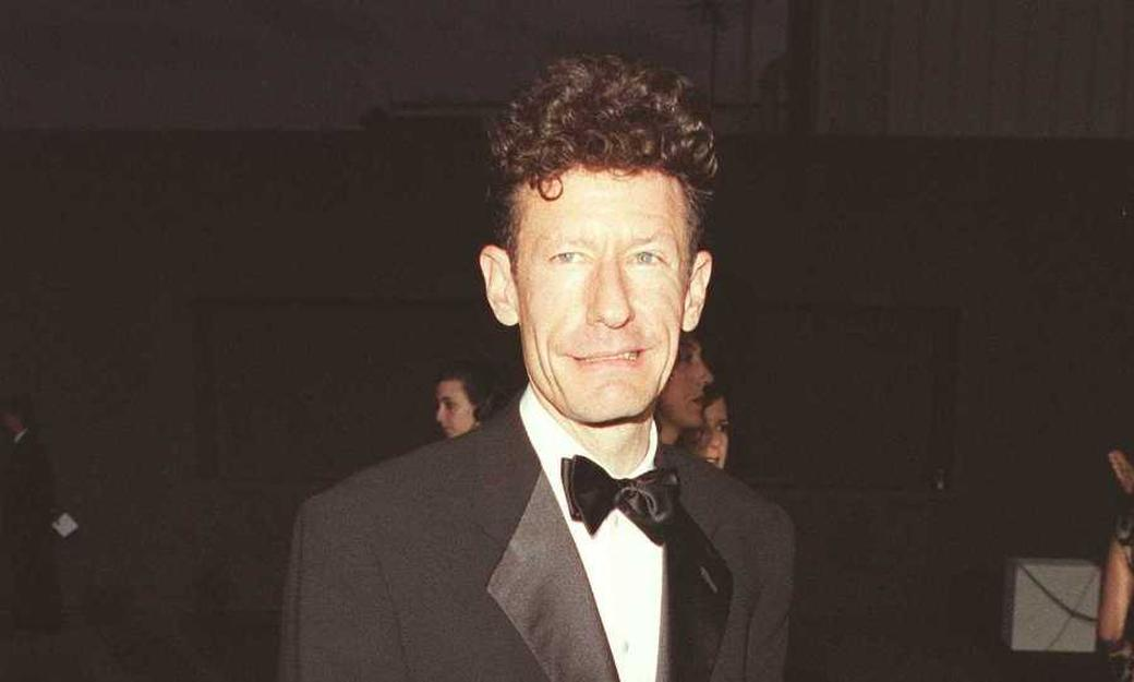 Lyle Lovett at the APLA benefit Gala.