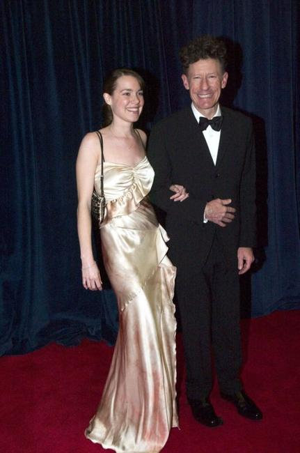 April Kimble and Lyle Lovett at the United States State Department dinner.