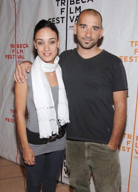 Martina Gusman and Pablo Trapero at the premiere of