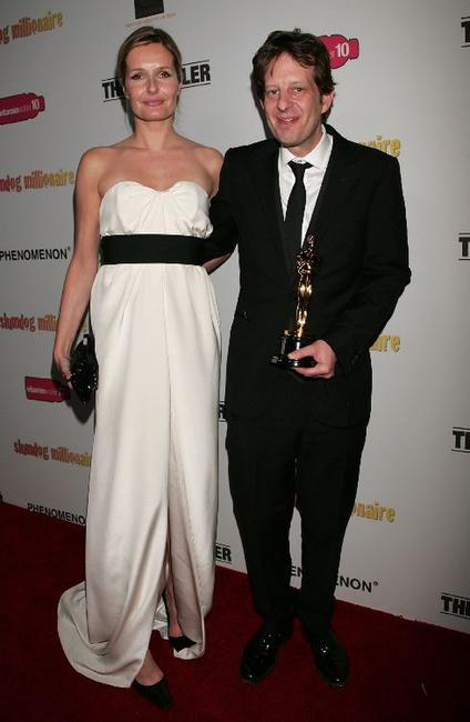Saskia Mulder and Christian Colson at the post Oscar party of