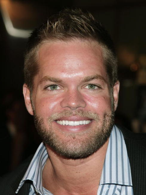 Wes Chatham at the L.A. premiere of