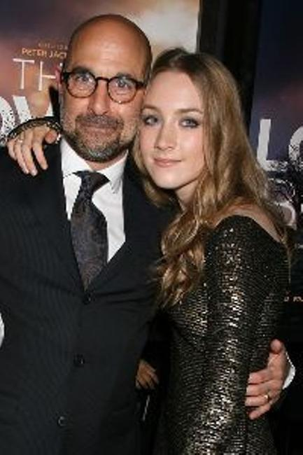 Stanley Tucci and Saoirse Ronan at the Special New York screening of
