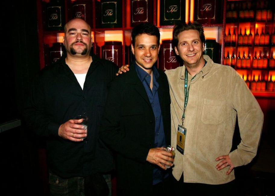 Craig Singer, Ralph Macchio and Chris Williams at the after party of the premiere of