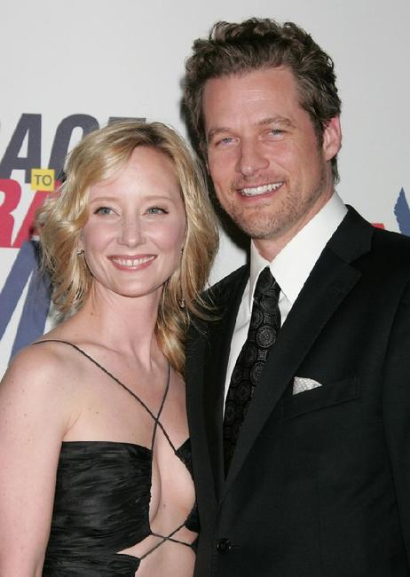 Anne Heche and James Tupper at the 15th annual Race to Erase MS event.