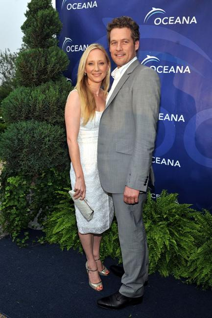 Anne Heche and James Tupper at the Oceana's SeaChange Summer party 2009.