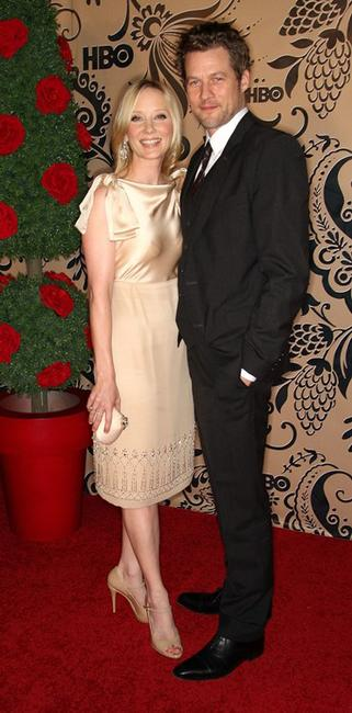 Anne Heche and James Tupper at the HBO's post Emmy Awards reception.