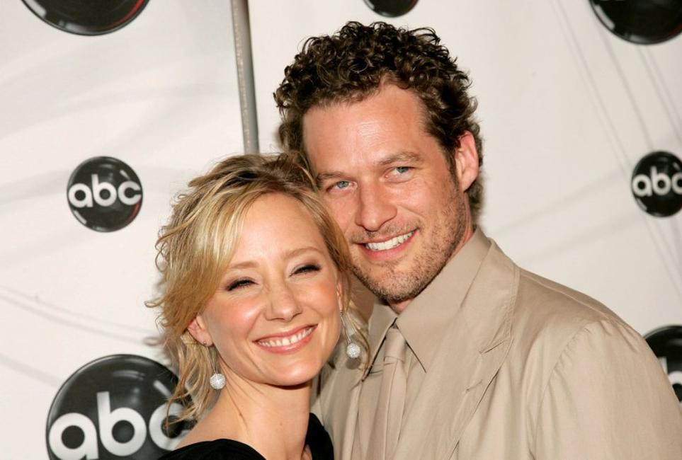Anne Heche and James Tupper at the ABC Upfront presentation.