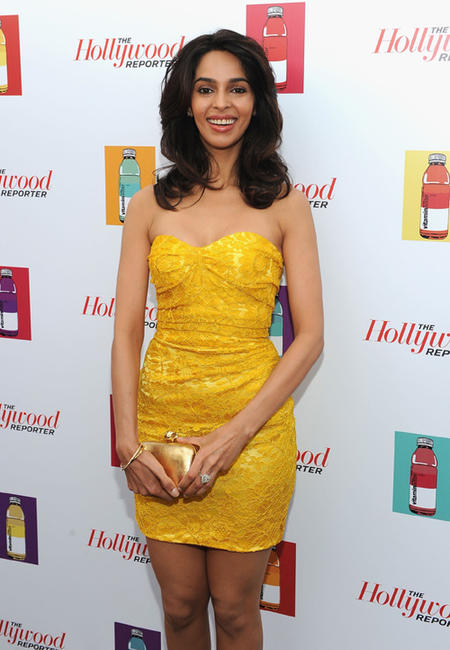 Malika Sherawat at the Hollywood Reporter party during the 64th Annual Cannes Film Festival.