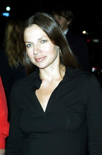 Justine Bateman at the opening of Oasis restaurant.