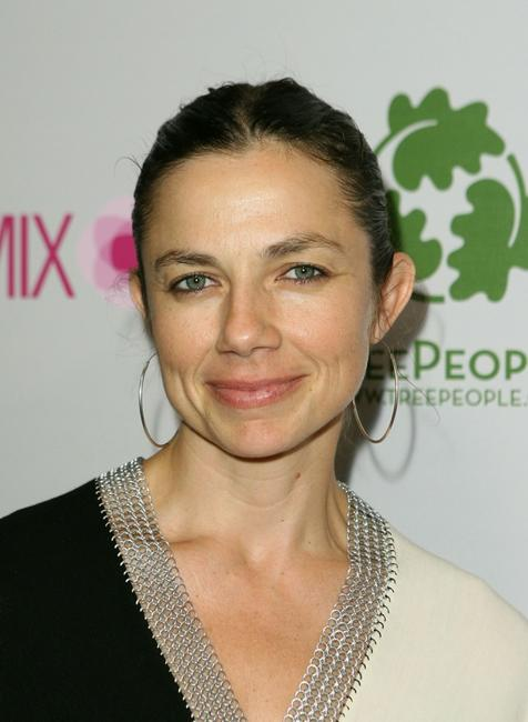 Justine Bateman at the Intermix opening on Robertson Blvd.