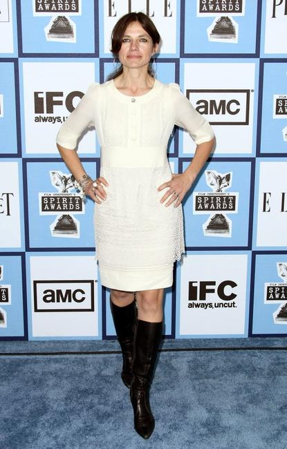 Justine Bateman at the 2008 Film Independent's Spirit Awards.