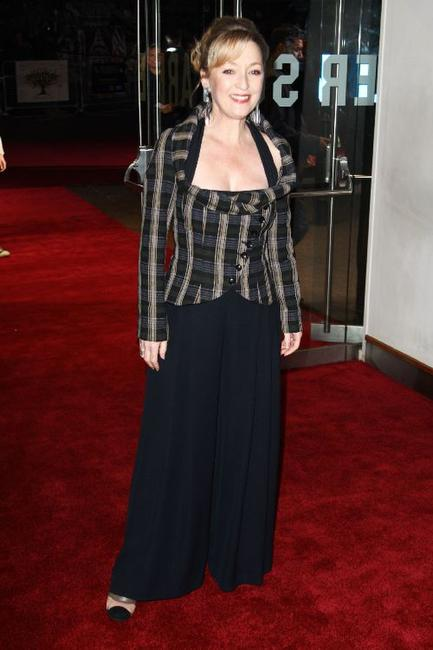 Lesley Manville at the premiere of