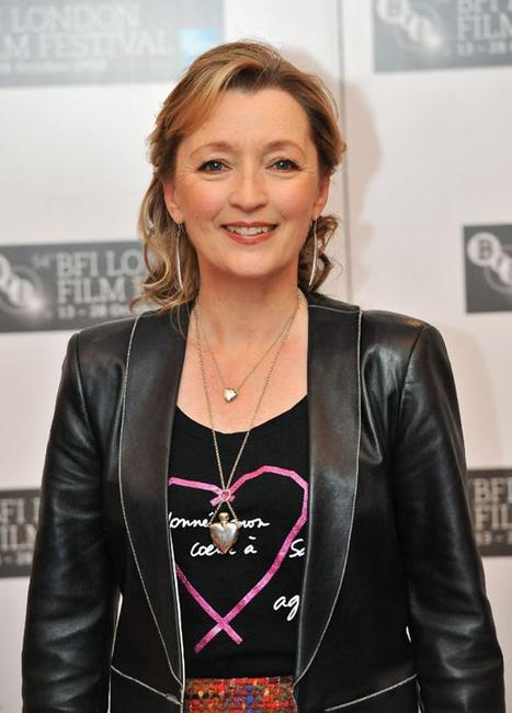 Lesley Manville at the photocall of
