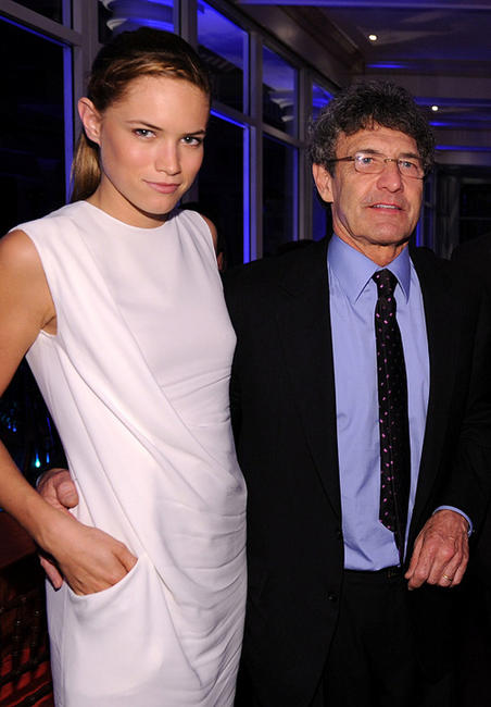 Cody Horn and President and CEO of Warner Brothers Alan Horn at the after party of the New York premiere of