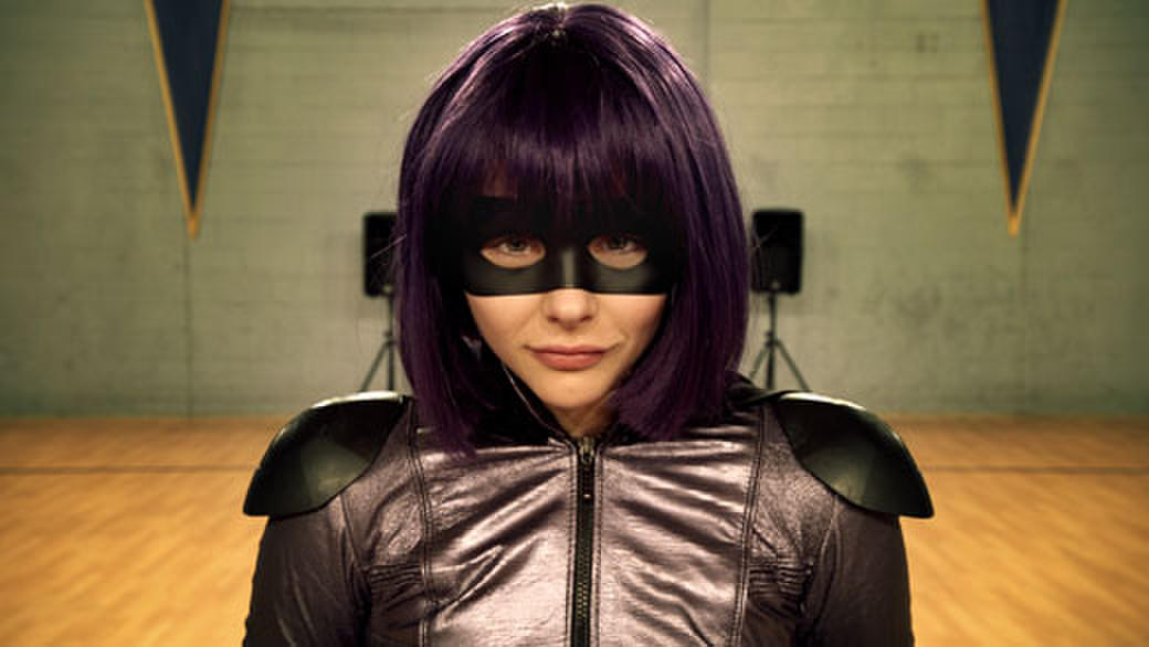 Chole Moretz as Hit-Girl in