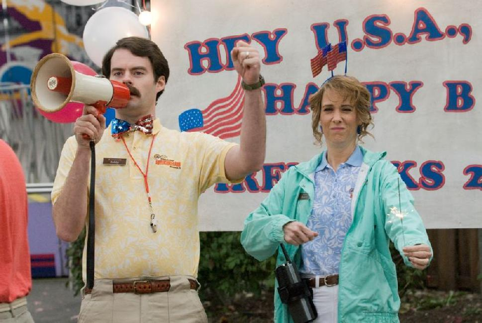 Bill Hader and Kristen Wiig in