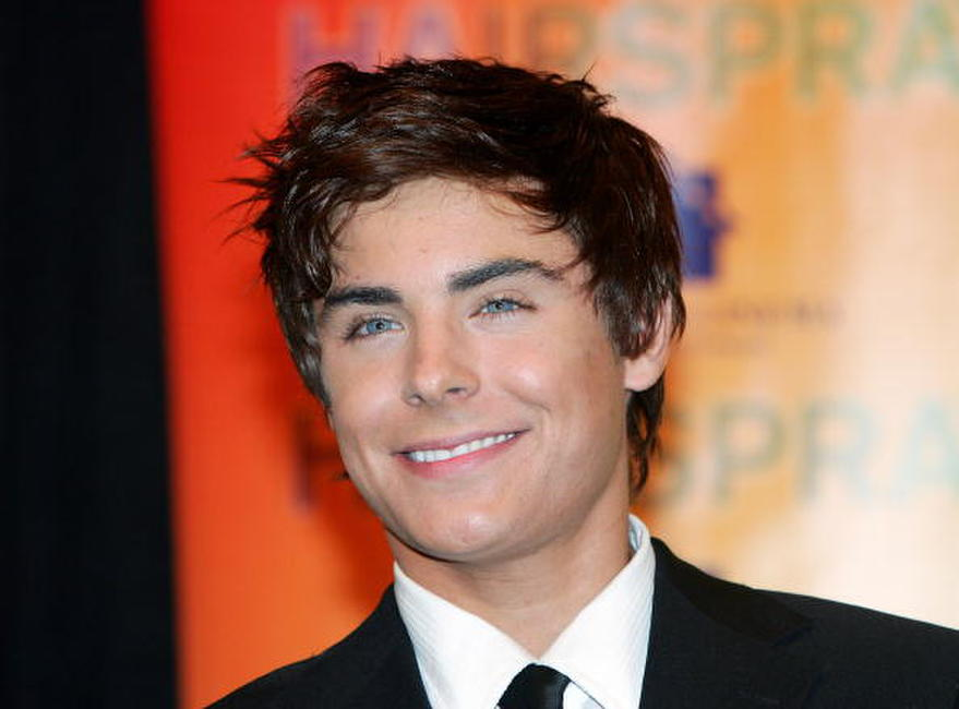 Zac Efron at a Las Vegas photocall for