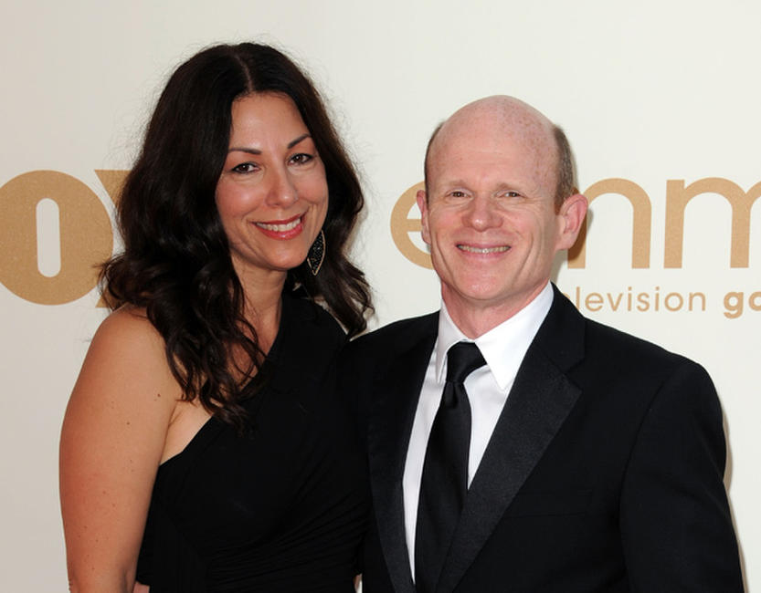 Dana and Paul McCrane at the 63rd Annual Primetime Emmy Awards in California.