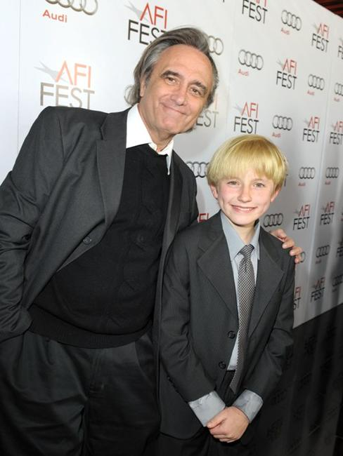 Director Joe Dante and Nathan Gamble at the AFI FEST 2009.