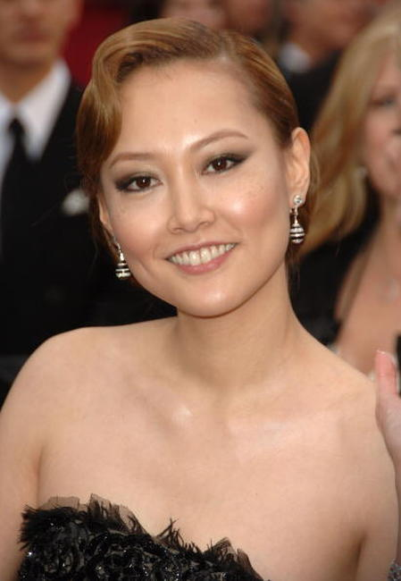 Rinko Kikuchi at the 79th Annual Academy Awards.