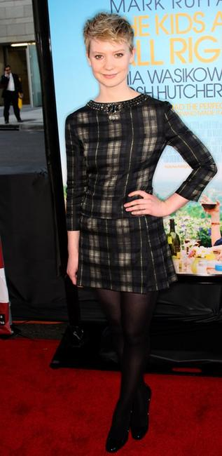 Mia Wasikowska at the California premiere of