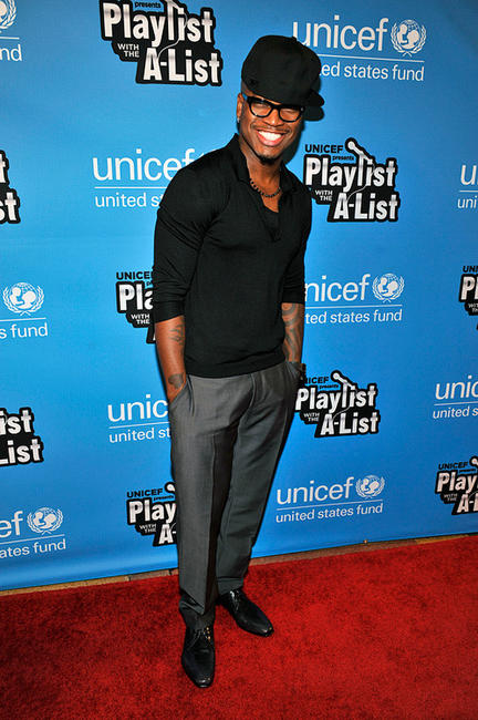 Ne-Yo at the UNICEF's