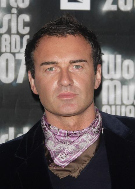 Julian McMahon at the Pre-party of the World Music Awards.