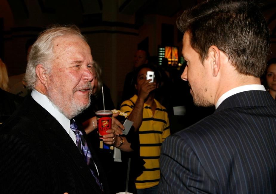Ned Beatty and Mark Wahlberg at the California premiere of