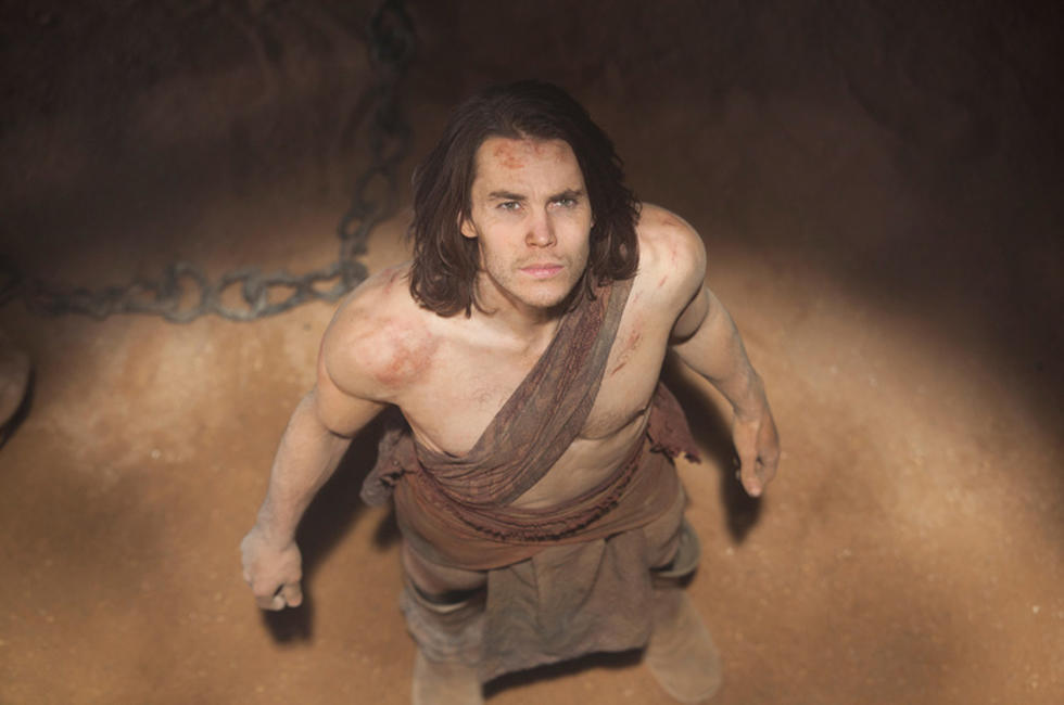 Taylor Kitsch as John Carter in