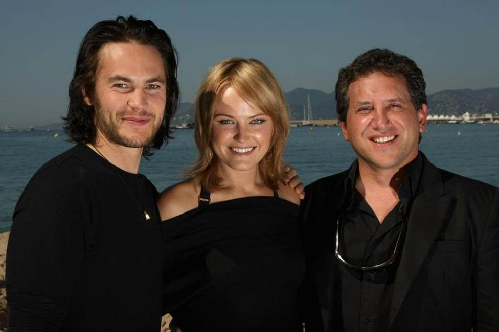 Taylor Kitsch, Malin Akerman and Director Steven Silver at the 62nd International Cannes Film Festival.