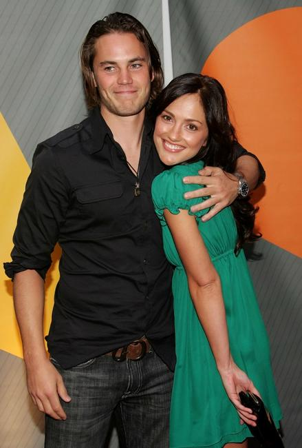 Taylor Kitsch and Minka Kelly at the NBC Upfronts.